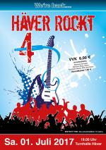 Save the Date: HÄVER ROCKT am 01.07.2017